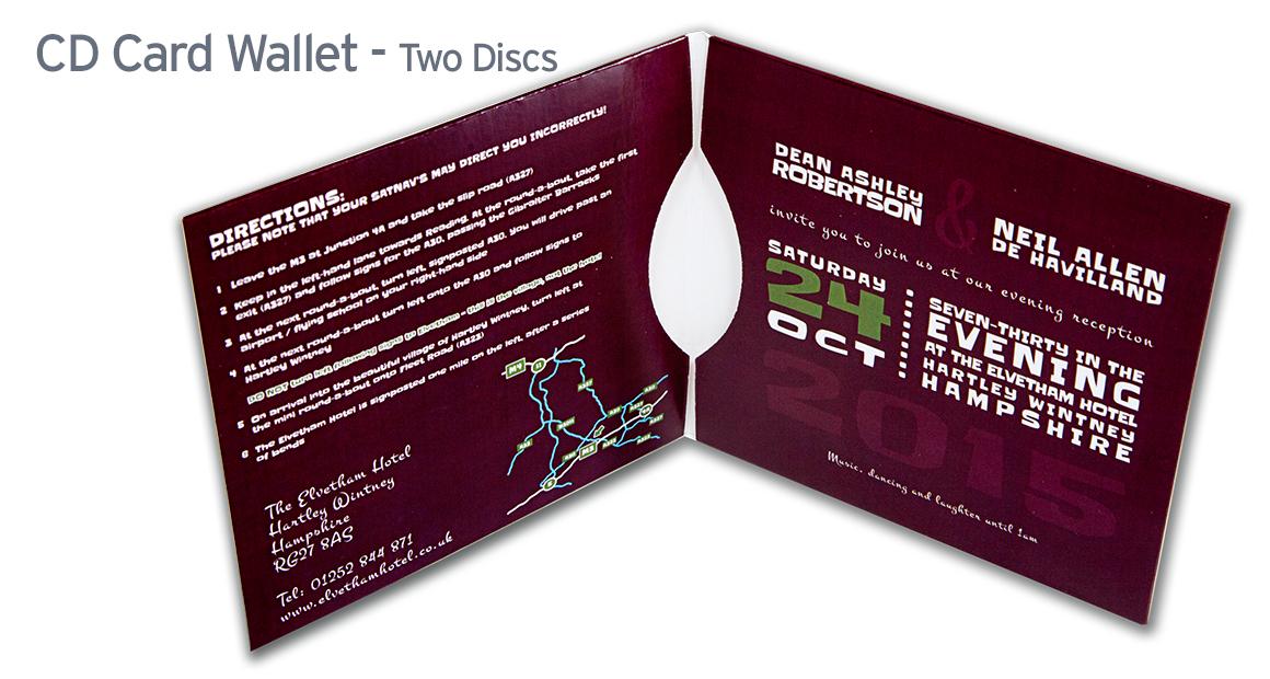 Cd Wallet Printing Short Run Cd Card Wallet Printing Uk