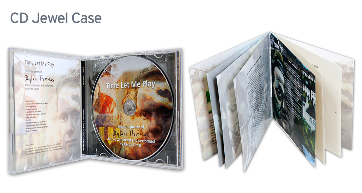 CD Jewel Case ~ CD Booklet ~ CD Back Inlay ~ MTS Duplication