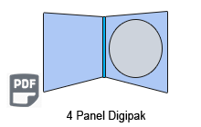 4 Panel CD Digipak 1 Disc