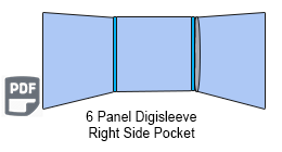 6 Panel CD Digisleeve
