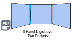 6 Panel CD Digisleeve Two discs
