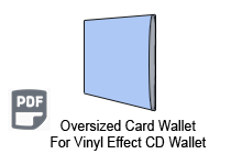 Oversized CD Card Wallet
