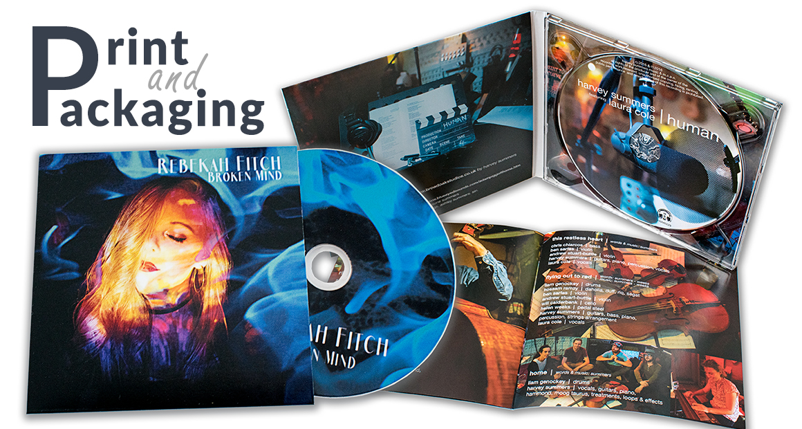 Short Run CD Printing and Packaging From 50 units
