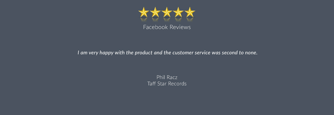 I am very happy with the product and the customer service was second to none.
